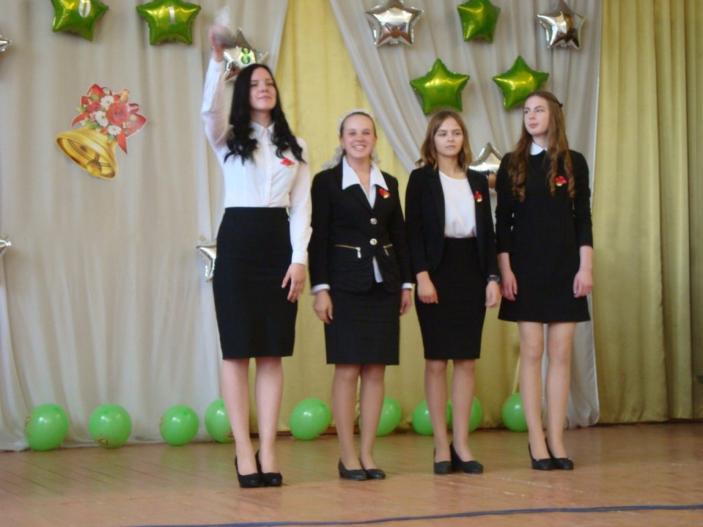 Последний звонок 9 классов Вохтожской школы