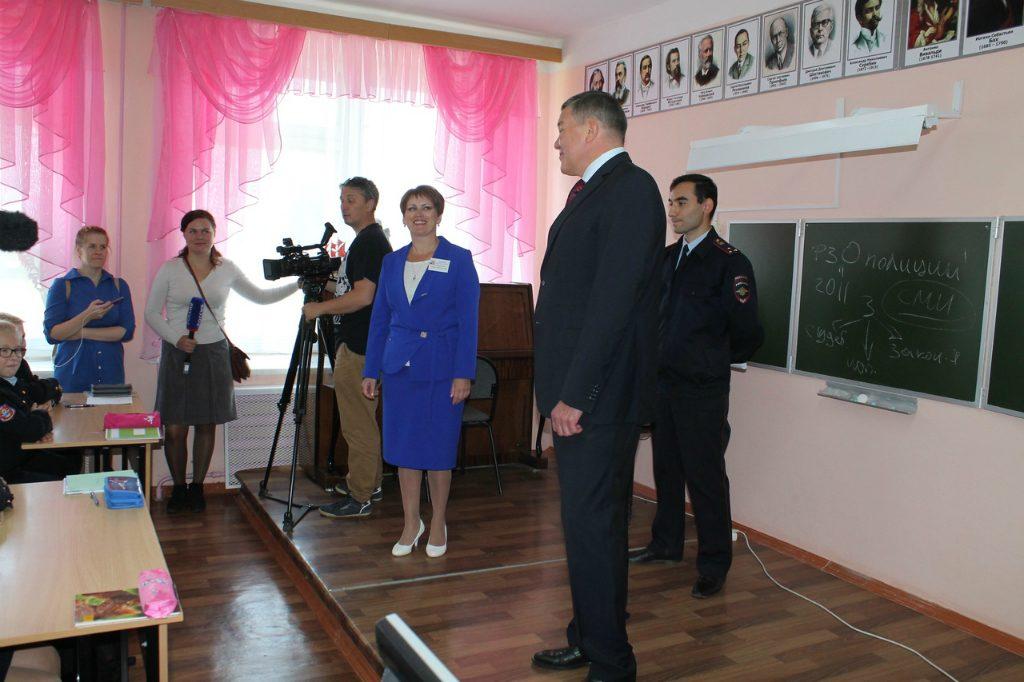 Встреча школьников с губернатором